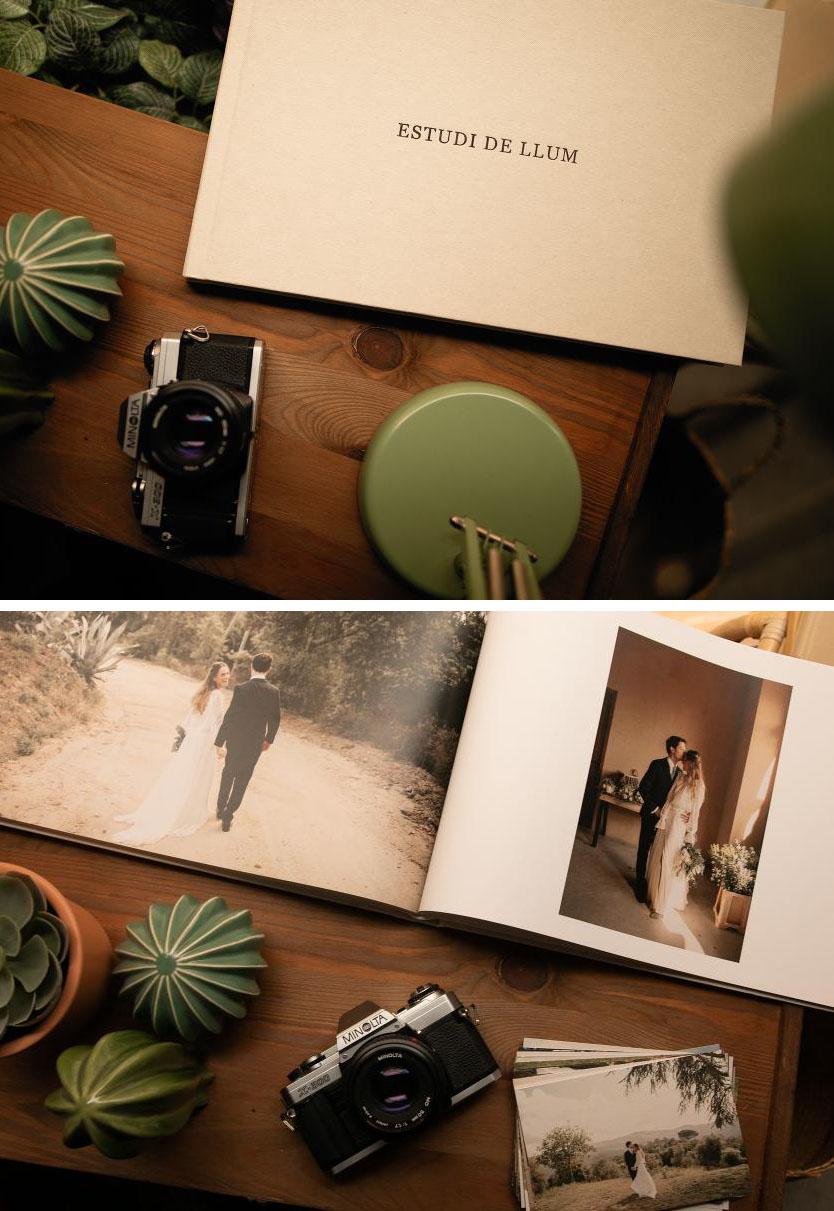 album editorial de boda